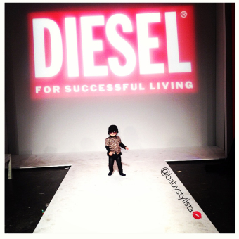 Diesel Kid burns rubber at petitePARADE Day 1 – Looks for AW 2013