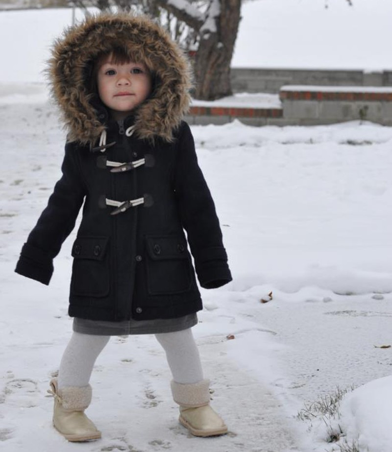 Meet Little Miss Snow Angel…