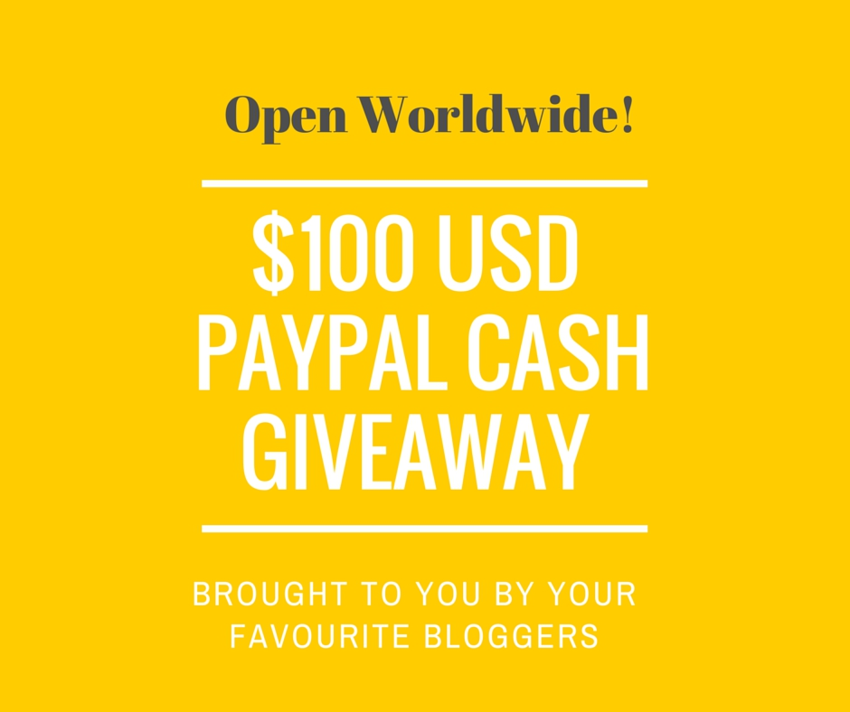 $100 Paypal Cash Worldwide #Giveaway – Say What??