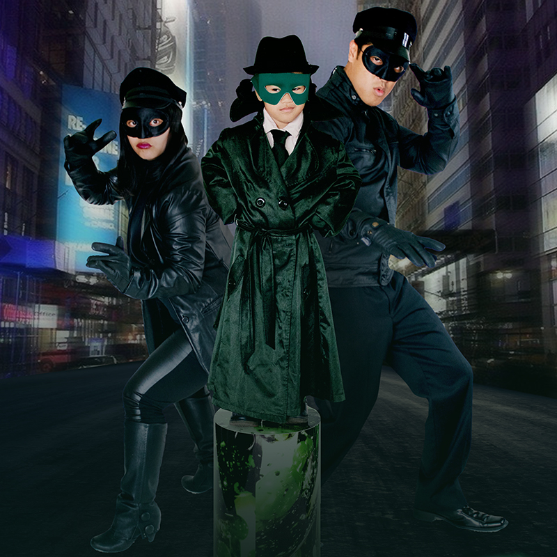 The Green Hornet, Fam-o-ween Edition :: Family Halloween Costumes