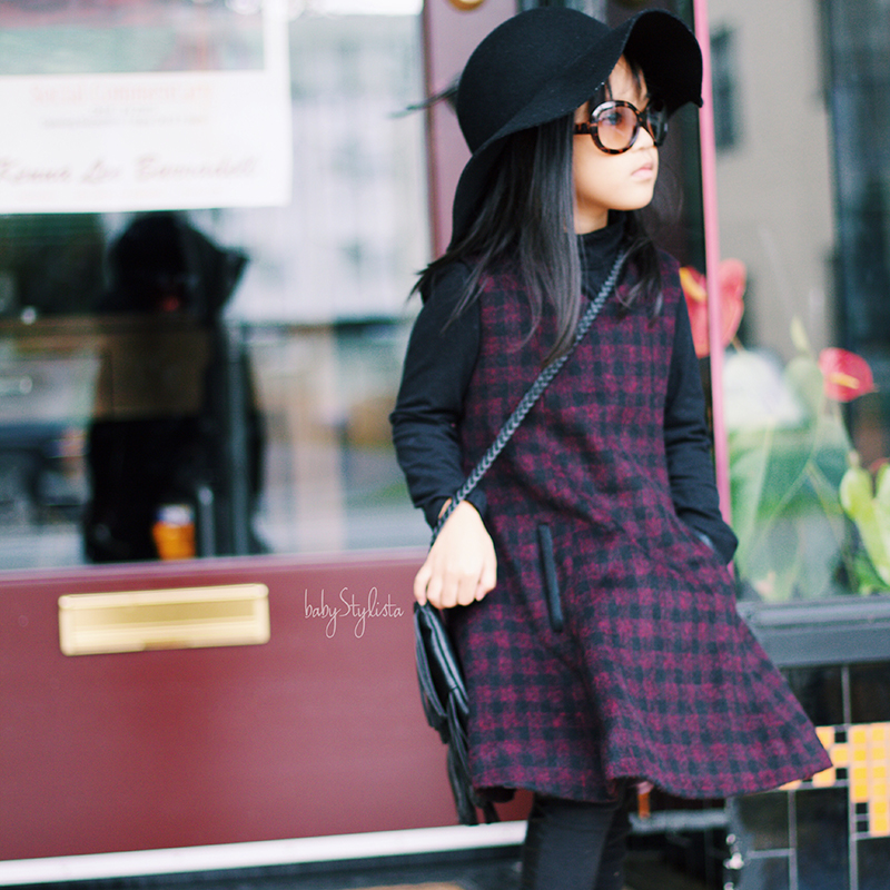 Alivia Simone Bristol Wool Dress :: A Darling Look for the Dreary Weather #Review #Giveaway
