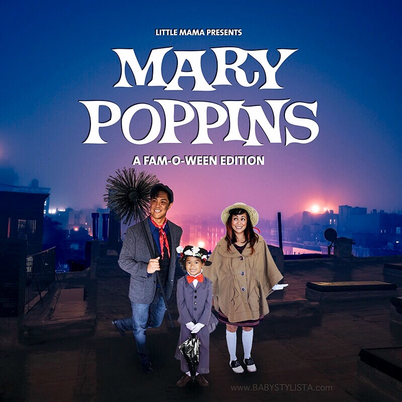 A Mary Poppins Halloween :: FAM-O-WEEN with Little Mama Poppins