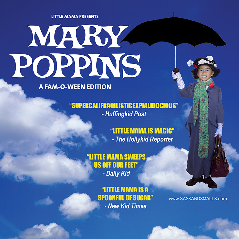 Halloween 2016 - Mary Poppins A Spoonful of Sugar Fam-o-ween 2017