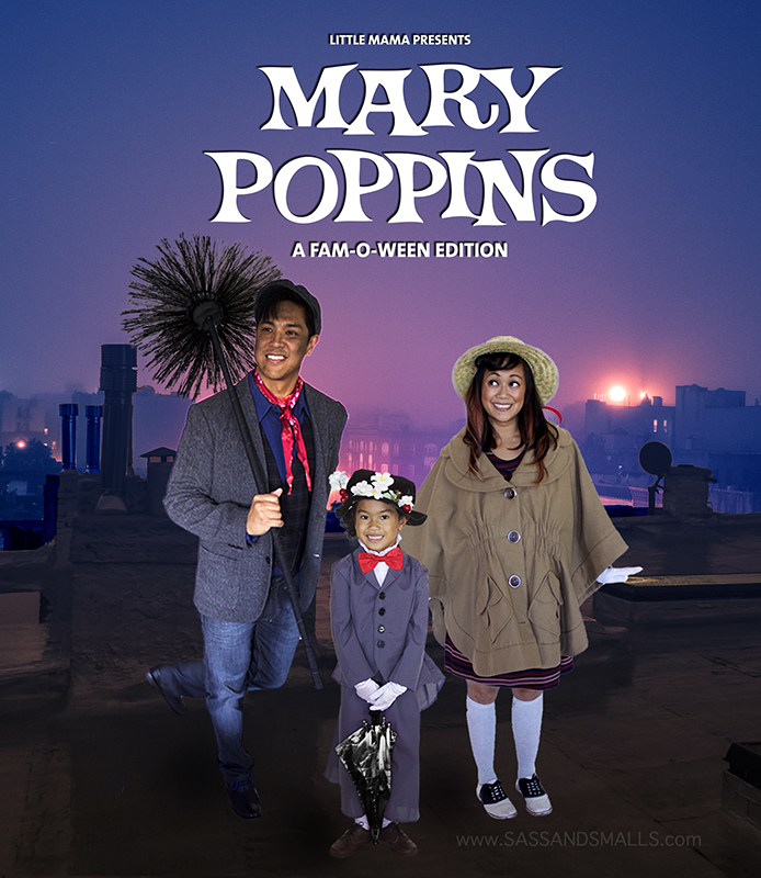 Halloween 2016 - Mary Poppins Fam-o-ween 2017