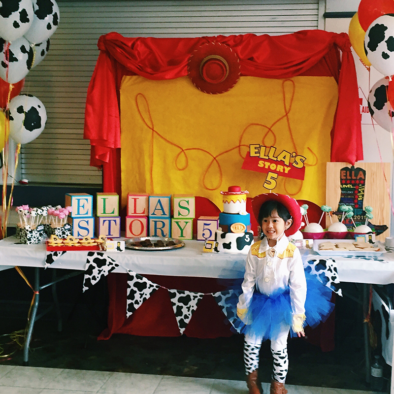 A DIY Jessie Toy Story Party on a Budget :: DECOR