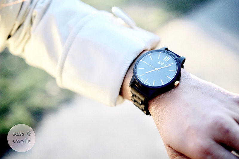 Jord Wood Watch Holiday Gift www.SassAndSmalls.com