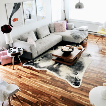 Family Room Makeover :: How Changing My Home Changed My Life www.sassandsmalls.com
