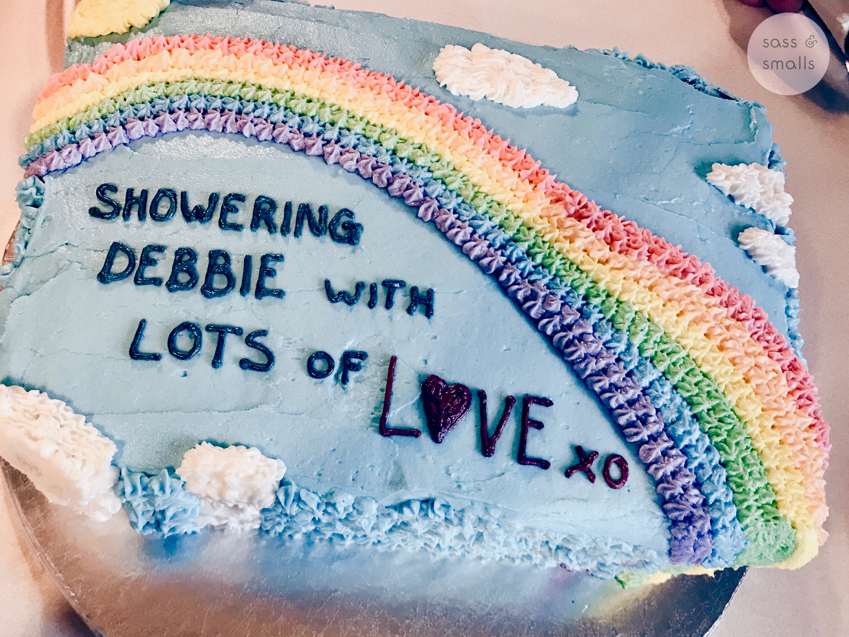 A Rainbow Baby Shower To Have Or Not To Have Sass Smalls